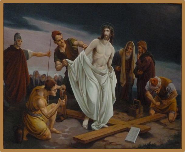 Le chemin de croix de l 39 glise saint andr de winamplanche for Andre caplet le miroir de jesus